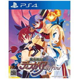 日本一ソフトウェア PS4ゲームソフト 魔界戦記ディスガイア Refine 通常版