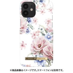 IDEALOFSWEDEN iPhone 12 mini 用 ファッションケース S/S17 FLORAL ROMANCE
