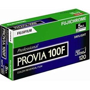 富士フイルム FUJIFILM プロビア100F 120 5本パック(新パッケージ) 120PROVIA100FEPNP12E