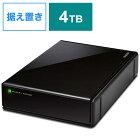 エレコム ELECOM ELECOM SeeQVault Desktop Drive USB3.2(Gen1) 4.0TB Black ELD-QEN2040UBK