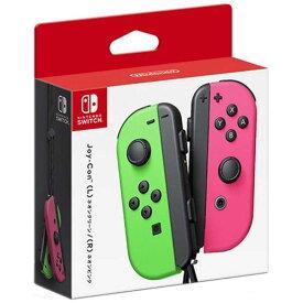 任天堂 Nintendo SWITCHアクセサリー(純正) Joy-Con(L) ネオングリーン/(R) ネオンピンク