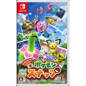 ポケモン SWITCHゲームソフト New ポケモンスナップ HAC-P-ARFTA