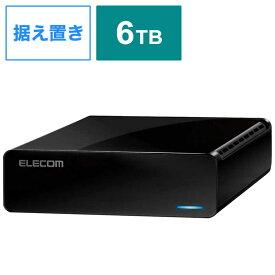 エレコム ELECOM ELECOM Desktop Drive USB3.2(Gen1) 6.0TB Black ELD-FTV060UBK