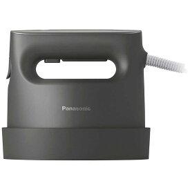 パナソニック Panasonic 衣類スチーマー パナソニック ダークグレー [ハンガーショット機能付き] NI-CFS770-H