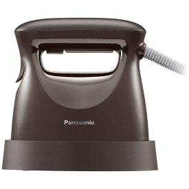 パナソニック Panasonic 衣類スチーマー パナソニック ダークブラウン [ハンガーショット機能付き] NI-FS570-T