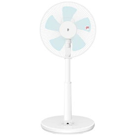 ヤマゼン リビング扇風機 リモコン付き [5枚羽根] YLR-AG303(W)