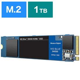 WESTERN DIGITAL 内蔵SSD WD BLUE SN550 [M.2 /1TB] WDS100T2B0C