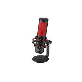 キングストン HyperX QuadCast USB Condenser Gaming Microphone HXMICQCBK