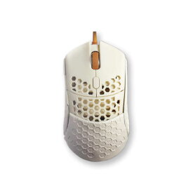 FINALMOUSE ゲーミングマウス ファイナルマウス[光学式/5ボタン/USB/有線] fm-ultralight2-capetown ホワイト