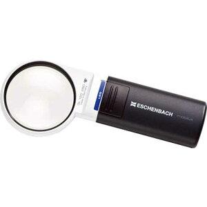 エッシェンバッハ LEDワイドライトルーペ3倍(ディオプター:12.0)/60mm径  15112LEDワイドライトルーペ