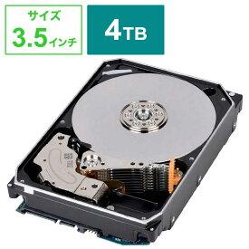 東芝 TOSHIBA  内蔵HDD SATA接続 MN-Airシリーズ(NAS) [3.5インチ /4TB] MN08ADA400E/JP