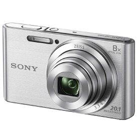 ソニー SONY コンパクトデジタルカメラ Cyber−shot(サイバーショット) DSC-W830(シルバー)