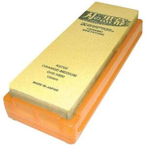 シャプトン シャプトン セラミック砥石 刃の黒幕 #1000中砥石 オレンジ ATIA904