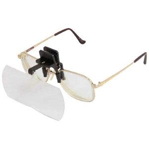 池田レンズ工業 双眼メガネルーペクリップタイプ1.6倍&2倍  HF40DE
