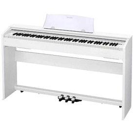カシオ CASIO 電子ピアノ Privia(プリヴィア)(88鍵盤) PX-770WE (ホワイトウッド調)(標準設置無料)