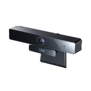 サンワサプライ ウェブカメラ マイク内蔵 会議用 [有線] CMS-V51BK