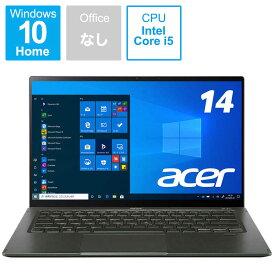 ACER エイサー ノートパソコン Swift 5(タッチパネル) ミストグリーン SF514-55T-H56Y/G