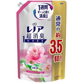 P&G Lenor(レノア)超消臭1week フローラルフルーティーソープの香り つめかえ用 超特大サイズ 1390ml LNチョウFソープSSL