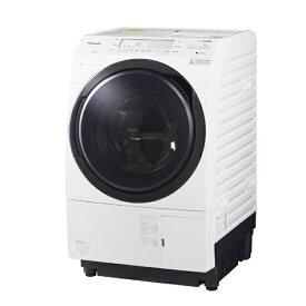 パナソニック Panasonic ドラム式洗濯乾燥機 VXシリーズ[洗濯10.0kg/乾燥6.0kg/ヒートポンプ乾燥/左開き] NA-VX700BL-W クリスタルホワイト(標準設置無料)
