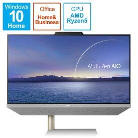 ASUS エイスース  AiO デスクトップパソコン ホワイト A5401W-R55500BP