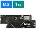 ADATA  内蔵SSD PCI-Express接続 GAMMIX S70 BLADE XPG ブラック [M.2 /1TB] AGAMMIXS70B-1T-CS