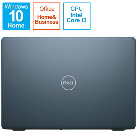 DELL デル ノートブック [15.6型/intel Core i3/SSD:256GB/メモリ:8GB/2020秋冬モデル] クオリーブルー NI335L-AWHBCQB