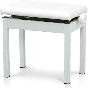 河合楽器 KAWAI 高低自在椅子 白 WB35