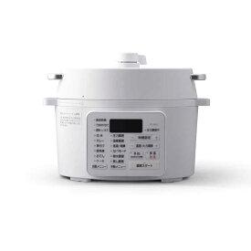 アイリスオーヤマ IRIS OHYAMA 電気圧力鍋 ホワイト PCMA2W