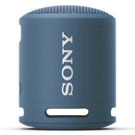 ソニー SONY ブルートゥーススピーカー ライトブルー SRS-XB13 LC