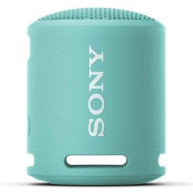 ソニー SONY ブルートゥーススピーカー パウダーブルー SRS-XB13 LIC