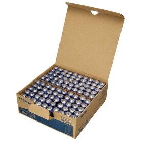東芝 TOSHIBA 「単3形乾電池」100本 アルカリ乾電池 LR6L 100P