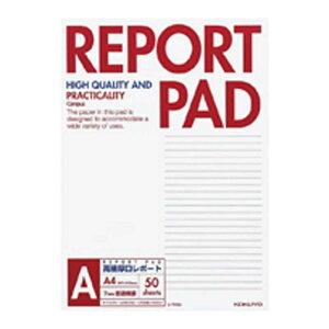 コクヨ [レポート用紙]レポートパッド 表紙巻き(A罫 A4 50枚) レ-725A