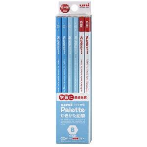 三菱えんぴつ [鉛筆] ユニパレット ユニスター パステルブルー+赤鉛筆 (硬度:B) 1ダース K5563B
