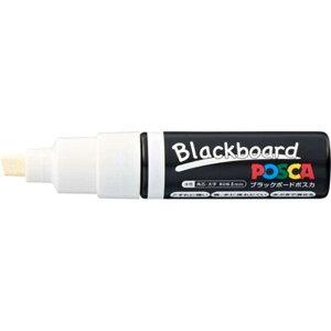 三菱えんぴつ [サインペン] ブラックボードポスカ 太字角芯 白 PCE2508K1P