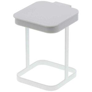 山崎実業 蓋付きポリ袋エコホルダー プレート(Plastic Bag Eco Holder With Lid Plate) ホワイト 03353