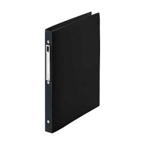 リヒトラブ [ファイル] noie-style クリヤーブック 交換式 ブラック (A4タテ型・30穴・10ポケット) N7682