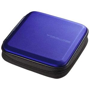 サンワサプライ 24枚収納 ブルーレイディスク対応セミハードケース (ブルー) FCD‐WLBD24BL