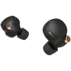 ソニー SONY ワイヤレスノイズキャンセリングステレオヘッドセット WF-1000XM4 BM ブラック