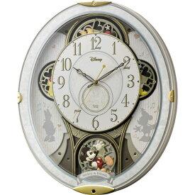 リズム時計 電波からくり時計 「ミッキー&フレンズM509」 4MN509MC03