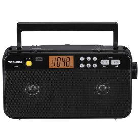 東芝 TOSHIBA AM/FMステレオホームラジオ ブラック TYSR66K