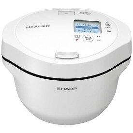 シャープ SHARP 水なし自動調理鍋 HEALSIO「ヘルシオホットクック」 KN-HW24G-W [ホワイト系]
