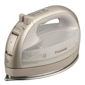 パナソニック Panasonic コードレススチームアイロン CaRuru(カルル) ベージュ [ハンガーショット機能付き] NIWL706C