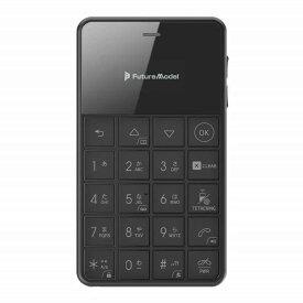 フューチャーモデル SIMフリー携帯電話 Niche Phone-S+[ストレージ:4GB] ブラック MOB-N18-01-BLACK