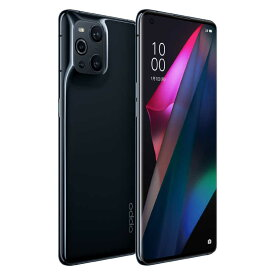 OPPO 【防水・防塵】SIMフリースマートフォン OPPO Find X3 Pro ブラック「CPH2173BK」Snapdragon 888 6.7型 グロスブラック CPH2173BK