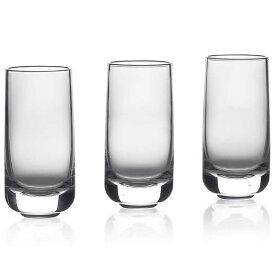 ゾーン ウィスキーショットグラス 3個セット 50ml ROCKS クリアー 10601