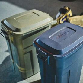 東谷 ゴミ箱 トラッシュカン 大容量:50L ロック式 耐久性 LFS-936