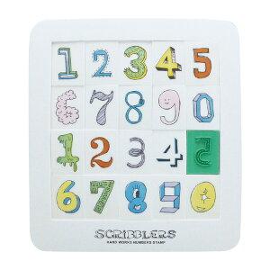 現代百貨 SCRIBBLERS パズル スタンプ ナンバーズ ブロック Lサイズ H931