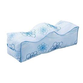 足枕 むくみ 防止 対策 予防 ( 花柄 ) 日本製 洗える【 枕 まくら ピロー 安眠枕 寝具 】 送料無料 送料込 学割 プレミアム