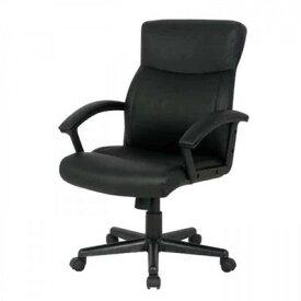 レザー キャスター付き椅子 キャスター オフィスチェア 事務椅子 デスクチェア 椅子 チェア ブラック ホワイト 肘付き椅子 肘掛け椅子 肘置き 肘付 肘掛