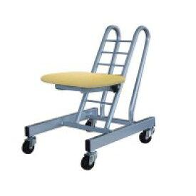 高さ調節 昇降 低姿勢 立ち仕事 中腰 作業 椅子 ナチュラル/シルバー 日本製 完成品 キャスター オフィスチェア 低い 低い椅子 事務いす キャスター付き椅子